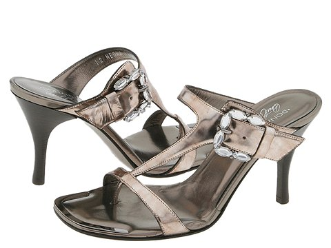 Donald J Pliner - Neona (Pewter Marbleized Metallic) - Footwear