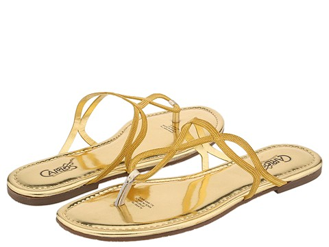 8521 661868 p - silver n gold flats