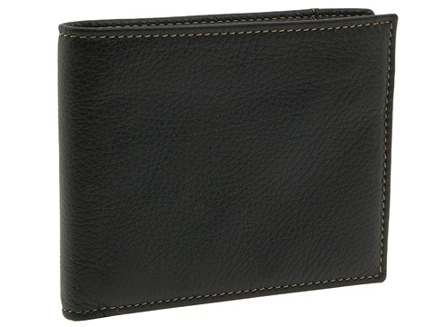 Torino Leather Co. Billfold - Black Tumbled