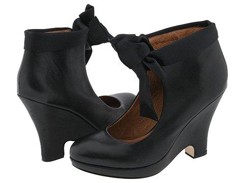 Corso Como - Dodie (Black Vintage Calf/Black Satin) - Footwear