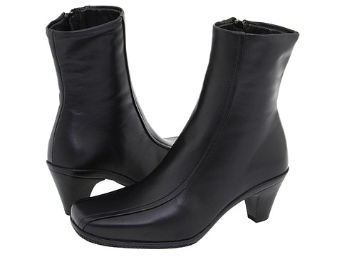 La Canadienne - Doreta (Black Leather) - Footwear