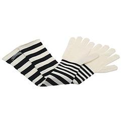 Jean Paul Gaultier Striped Long Gloves