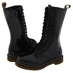 Dr. Martens - 9733 (Black Patent) Boots