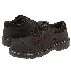 Dr. Martens - Midi Steel-Toe - 4 Eye Shoes (Bark/Brown)