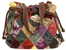 Lucky Brand Diamond Patch Tulip Satchel (Multi) - Handbags :  purse purses lucky brand lucky brand jeans