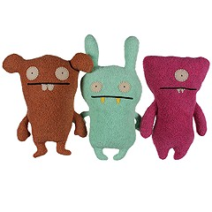 Uglydolls - Little Uglys 3-Pack Wedgehead Moxy Chuckanucka (Asst.) - Accessories