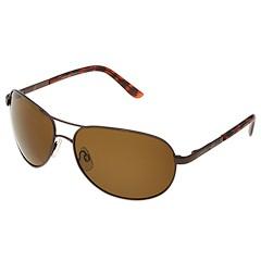 SunCloud Polarized Optics - Aviator Polarized (Brown/Brown Polarized Lens) - Eyewear