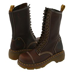 Dr. Martens - Miranda (Dark Brown Grizzly) Boots