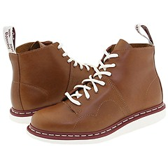 Dr. Martens - Monkey Peter-7 Eye With White Sole (Brown) Boots