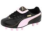 Puma Kids - Esito XL I FG Jr. (Toddler/Youth) (Black/Pink Lady/Team Gold) - Footwear