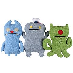 Uglydolls - Little Uglys 3-Pack: Target, Sailor Babo, Gato Deluxe (Asst.) - Accessories
