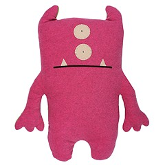 Uglydolls - 2 Foot Uglydoll- Bop N' Beep (Pink/Green) - Accessories