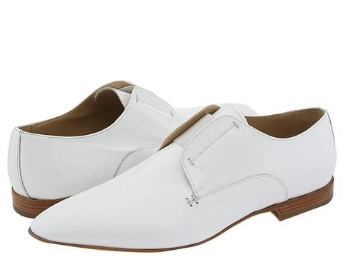 Alessandro Dell'Acqua - 1400 (White Patent) - Footwear