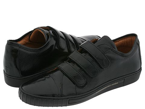 Alessandro Dell'Acqua - 1419 (Black Crinkle Patent) - Footwear