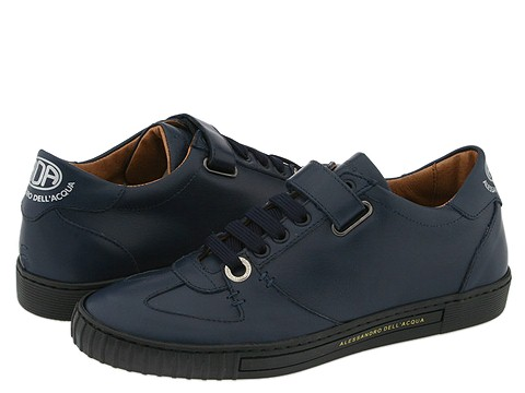 Alessandro Dell'Acqua - 1420 (Blue Leather) - Footwear