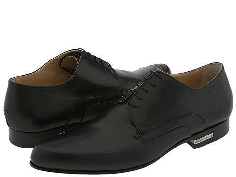 Alessandro Dell'Acqua - 1423 (Black Leather) - Footwear