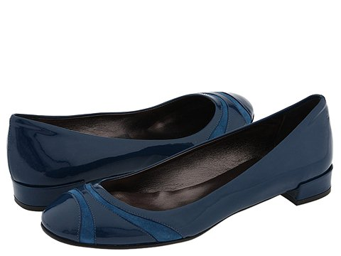 Belle by Sigerson Morrison - 5736 (Blue Suede) - Footwear
