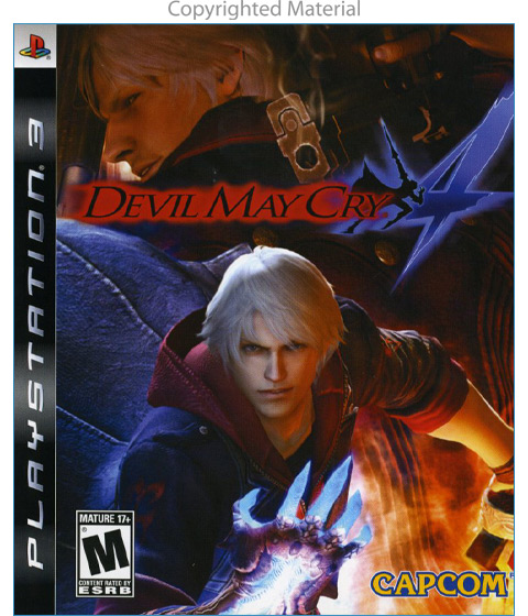 Playstation - PS3 Devil May Cry 4 (One Color) - Electronics