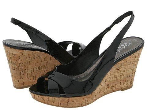 Franco Sarto - Gander (Black Patent) - Footwear