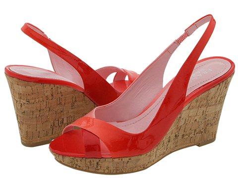 Franco Sarto - Gander (Coral Fantasy Patent) - Footwear