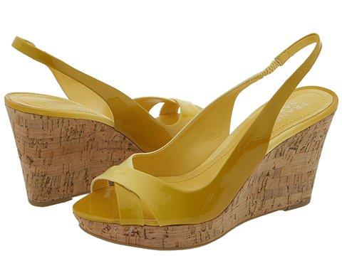 Franco Sarto - Gander (Lemon Fantasy Patent) - Footwear