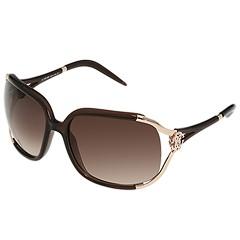 Roberto Cavalli - RC370S (Transparent Dark Brown/Gradient Brown Lens) - Eyewear