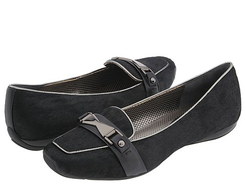 Via Spiga - Warner (Black Pony) - Footwear