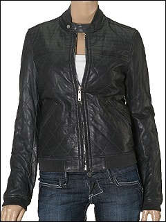 Diesel - Vieru Quilted Leather to Nylon Reversible Coat (Charcoal) - Apparel