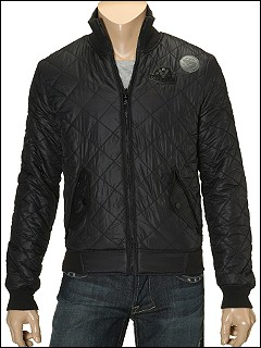 Diesel - Jatur Reversible Microjacquard Jacket (Black) - Apparel