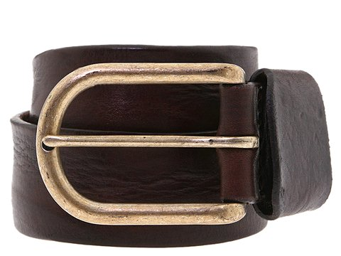 Diesel - Hardmetal Belt (Chocolate) - Accessories