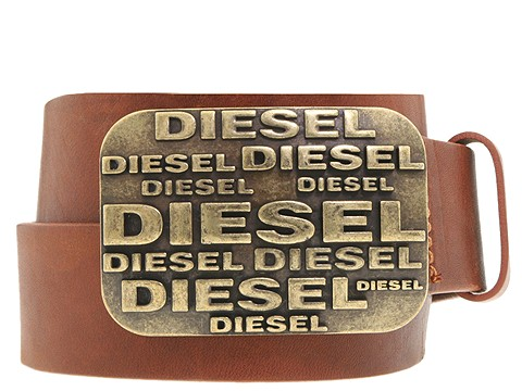 Diesel - Monogramm Belt (Brown) - Accessories