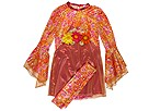 Puppet Workshop - Daisy Mod Dress (Toddler/Little Kids/Big Kids) (Orange) - Apparel