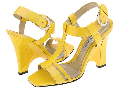 Via Spiga - Ensue (Chano (Yellow) Patent) - Footwear