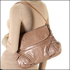 Francesco Biasia - Marie Half Flap (Caramel) - Bags and Luggage