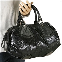 Francesco Biasia - Ellen Satchel (Black) - Bags and Luggage