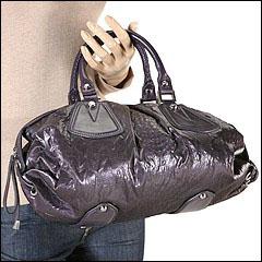 Francesco Biasia - Ellen Satchel (Purple) - Bags and Luggage