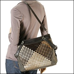 Francesco Biasia - Emy Woven Tote (Fox) - Bags and Luggage