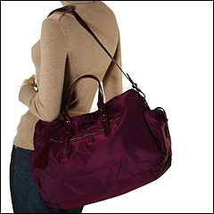 Francesco Biasia - Jackye Large Organizer Tote (Prunus (Dark Plum)) - Bags and Luggage