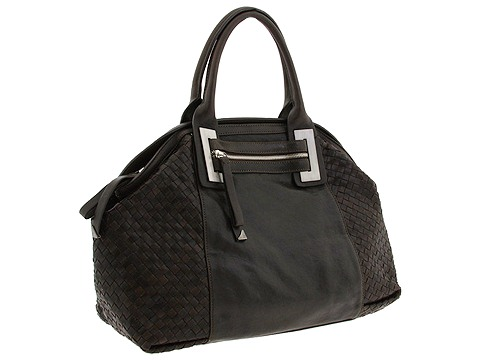 Francesco Biasia - Kimber Large East/West Woven Tote (Morus) - Bags and Luggage