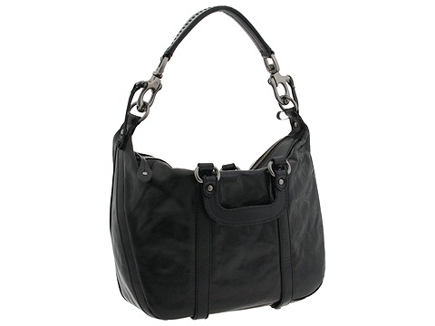 Francesco Biasia - Paula Two Shoulder Satchel (Black) - Bags and Luggage