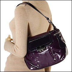 Francesco Biasia - Stefy Single Shoulder (Purple) - Bags and Luggage