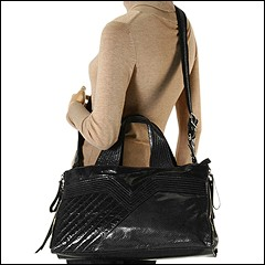 Francesco Biasia - Masha East/West Satchel (Glass) - Bags and Luggage