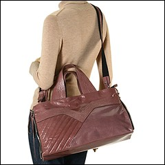 Francesco Biasia - Masha East/West Satchel (Powder) - Bags and Luggage