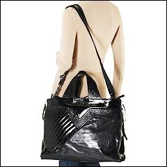 Francesco Biasia - Masha Large Tote (Black) - Bags and Luggage