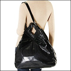 Francesco Biasia - Masha North/South Tote (Black) - Bags and Luggage