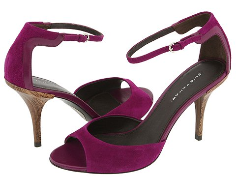 Elie Tahari Purple Sandals