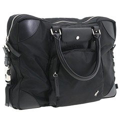 Cesare Paciotti - 2100T (Black Nylon) - Bags and Luggage