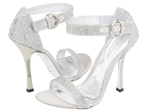 Sergio Rossi - AU6701.000 (Silver) - Footwear