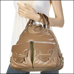 Sergio Rossi - Bowler Blade Runner BU2011 (Argilla) - Bags and Luggage