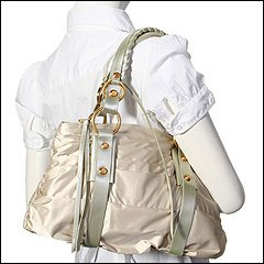 Francesco Biasia - Butterfly Glam 2 - Satchel (Beige) - Bags and Luggage